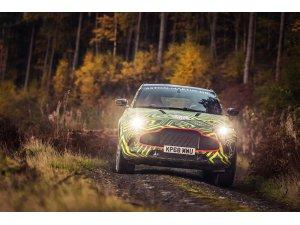Aston Martın'in ilk SUV DBX'i sahneye çıkıyor