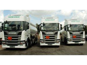Scania'dan Antalya'ya teslimat