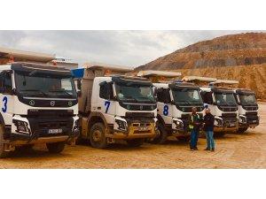 Volvo Trucks'tan  21 adetlik yeni teslimat