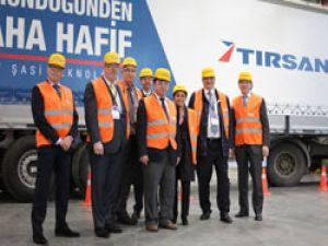 TIRSAN Adapazarı fabrikası Hollandalı misafirlerini ağırladı