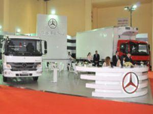 Mercedes Atego kamyonlarıyla Fresh Türkiye 2013'de