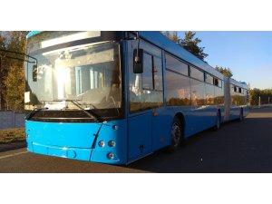 Allison şanzımanlı MAZ 216 otobüs