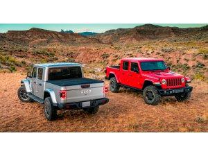 Arazi Canavarı Yeni Jeep Gladiator
