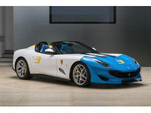 Ferrari 50'li 60'lı yıllardan esinlendi yeni araba çıkarttı