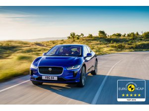 Elektrikli Jaguar I-Pace'e güvenlik testinden tam not