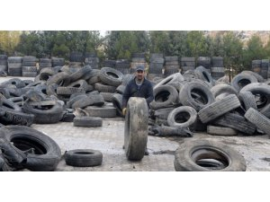 Lasder 1 milyon ton lastik dönüştürdü
