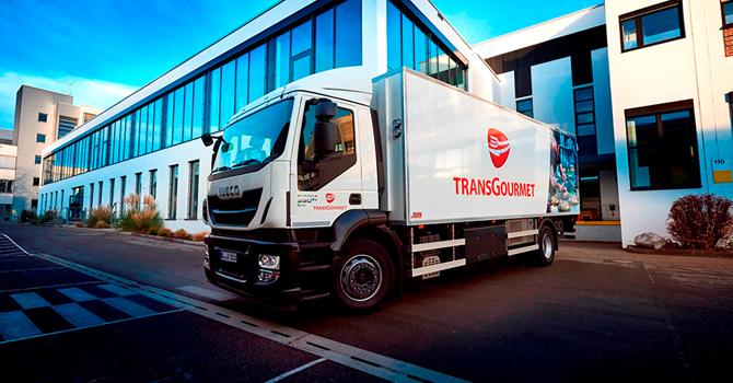 Transgourmet'e Allison şanzımanlı Iveco kamyonlar