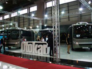Otokar 9 aracıyla Busworld Turkey'deydi