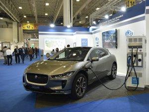 Elektrikli Jaguar I-Pace Petroleum fuarında yerini aldı