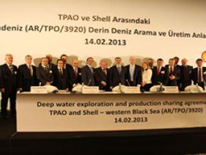 TPAO ve Shell Karadeniz de petrol arama anlaşması imzaladı