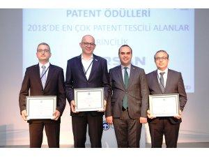 Ege Endüstriye Taysad'dan patent ödülü