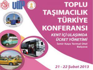 İzmir toplu taşımacılık konferansına ev sahipliği yapacak