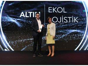 Ekol Lojistik Altın ödülün sahibi oldu