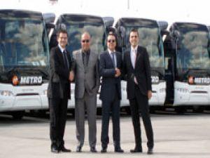 Metro Turizm'den 100 araçlık dev Neoplan yatırımı