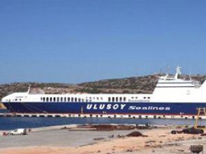 Ro- Ro Gemisi 'Ulusoy 15' Çeşme'ye geldi
