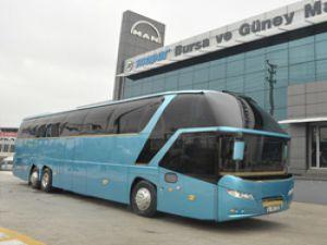 Ulusoy için özel dizayn edilen Neoplan Starliner