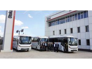 Otokar yeni otobüslerini teslim etti