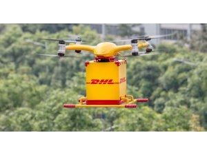 DHL Kargoları Drone ile uçuyor
