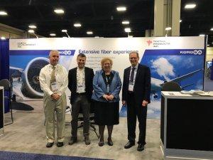 Kordsa Havacılık endüstrisi teknolojilerini sergiledi