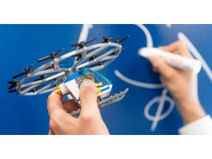 Uçan taksilere Bosch teknolojisi