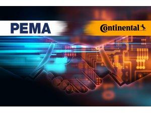 PEMA, Filosunun lastik yönetimini Continental'in sistemi ile takipte