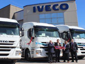 Network Global Lojistik'e Iveco Otomotiv'den 20 adet Stralis