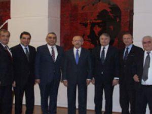 TOFED, Kılıçdaroğlu'nu ziyaret etti