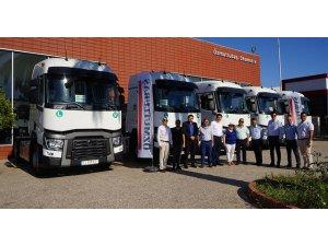 Renault Trucks'tan yeni teslimat