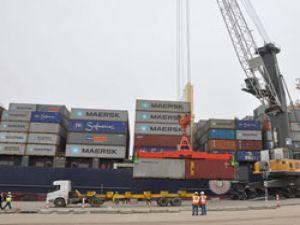 İlk konteyner gemisi, İskenderun Limanı'na yanaştı