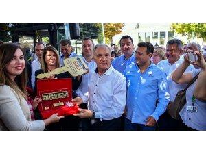 Makedonya'ya 4 adet CNG Citiport