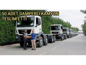 Kolin İnşaat, MAN TGS kamyonlarını aldı
