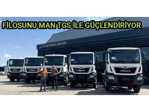 Fernas Şirketler Grubu 5 adet MAN aldı