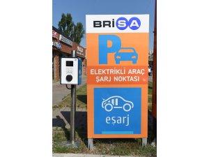 Brisa'dan, E-şarj abonelerine bir yıl ücretsiz şarj hizmeti