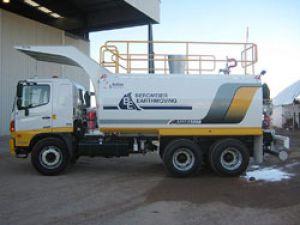 Action Madencilik Allison şanzımanlı kamyonlarla işini sürdürüyor