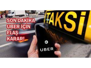 Uber'e erişim engellendi