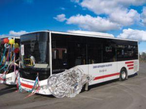 İZULAŞ'ın filosuna Allison Şanzımanlı Doruk Otobüs