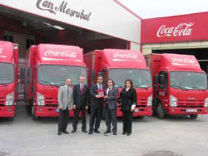 Can Meşrubat Gıda'a Isuzu N sesi kamyonlar hizmet edecek