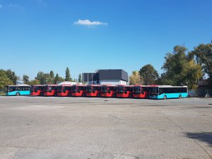 Sırbistan'a 10 adet Kent otobüs ihraç edildi