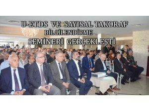 """Mahmut Gürses """"U-ETDS'den geri dönüş yok"""""""