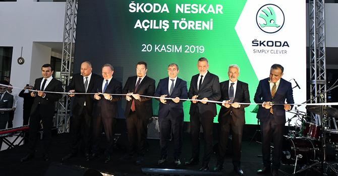 Neskar, 15'nci yılında Skoda ile İş birliğine girdi