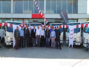 Yükseliş'ten Karakoç'a 7 adet NLR kamyonet