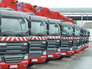 Allison şanzımanlı DAF kamyonlar Almanya Belediyesine hizmet ediyor