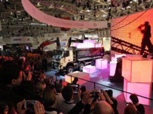 Yeni Volvo FMX'ler Bauma Fuarı'nda tanıtıldı