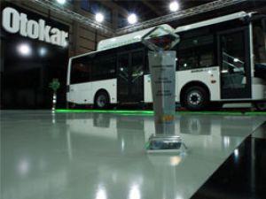 Busworld 2012'de Otokar ve Cummins standına ödül