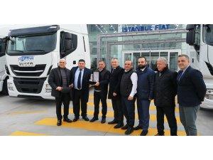 İstanbul Fiat Stralis çekicileri Sittnak'a teslim etti