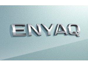 Yüzde 100 Elektrikli SUV'unun İsmi ENYAQ oldu