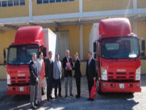 Anadolu Isuzu N Serisi kamyonlar,Sümer Lojistiğin filosunda