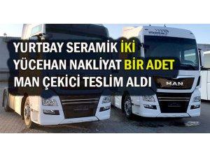 Yurbay Seramik ve Yücehan Nakliyat MAN'ı tercih etti