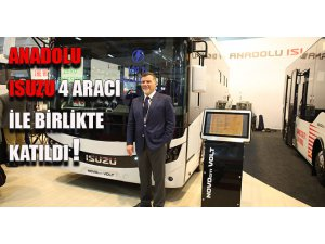 Anadolu Isuzu, Busworld'e 4 aracı ile katıldı