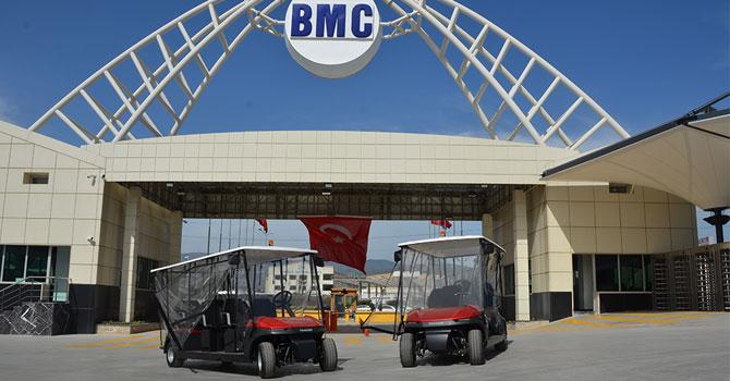 Tragger T-Car, BMC fabrikası'nda